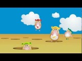 Helium Hamsters - CBA song - ABC backwards, advanced Alphabet Song