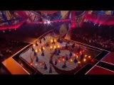 Заставка финала Евровидение 2012 в Баку