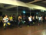Tavia and Tamara Dancehall Class Ukki Bit