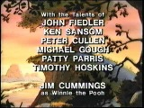 Closing to The New Adventures of Winnie the Pooh - Volume 4: There's No Camp Like Home 1990 VHS