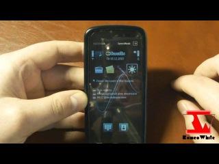 Мод прошивка Just Black для Nokia 5800