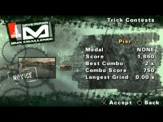 [PSP] Dave Mirra BMX Challenge. Часть 1. Э рон дон дон