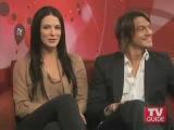 Craig Horner & Bridget Regan on TVGuide (говорят о втором сезоне)