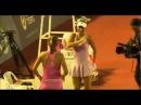 Caroline Wozniacki and Victoria Azarenka Dancing
