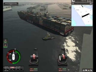 Ship Simulator Extremes VERMAAS and tugboats U-TURN.wmv