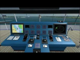 Ship Simulator Extremes - MS Oceana departing Southampton