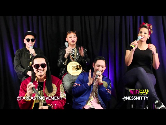 NESSA interview FAR EAST MOVEMENT Wild 94.9