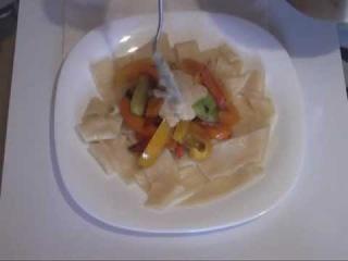 Рецепты от Лилы. Домашняя лапша с овощами и соусом