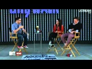 MTV News ~ Кристен говорит о Робе и Космополисе: Он тааааак хорош!