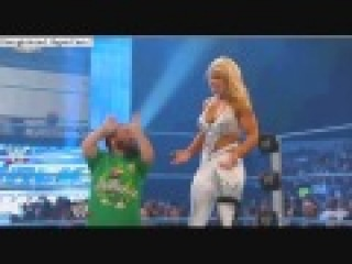 WWE Smackdown 12/03/10 Hornswoggle vs eagle