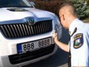 В Чехии так называемые блатные номера на автомобиль не пользуются популярностью - Первый канал