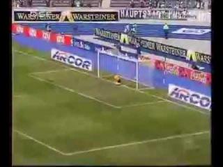 Marcelinho - fantastic goal!!! (48,3 meter)