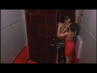 Pootie Tang with the girl in the elevator