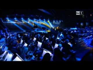 Adriano Celentano contro Aldo Grasso e duetto canoro con Battiato (Festival di Sanremo 14/02/'12)