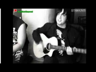 joel faviere - Sarcasm Acoustic live on stickam