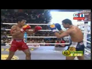 Best Fight Kun Khmer 2012 : Keo Rom Chang vs Van Chanvay