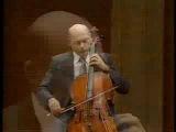 Janos Starker - Bach Cello Suite 3 II. Allemande