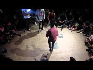 Miel (Alliance Crew) Vs Kyrra (Electro Street) Life Round Contest 2013