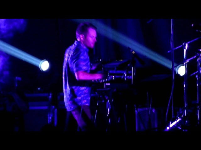 Enter Shikari Destabilise Rou's climbing on stage Mothership Arena Moscow 13 10 12