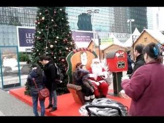Рождество во Франции. Париж 2012 год