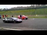 Lamborghini Murcielago vs  Fiat 500 cinquecento 360p