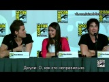«Дневники Вампира»: панель с Comic-Con 2012 (rus sub)