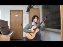TROITSA - improvisation on the folk song ''TRY JANGALY'' arr. for guitar by A.Haluza