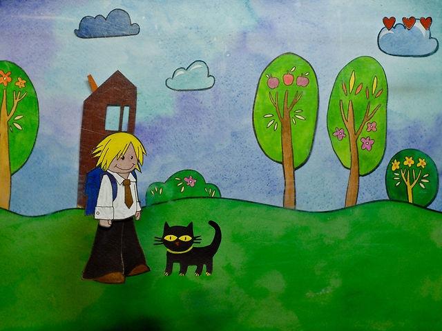 Мультфильм для детей на 1 сентября с музыкой DenDerty