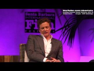 Colin Firth Celebrity English Actor Interview Santa Barbara