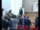 """Сюжет канала """"ТВ100"""" о визите В.В. Путина в СПбГУП"""