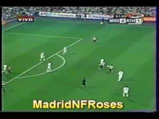 Real Madrid Campeón Liga 29 (3-1 vs Athletic Bilbao) 2002 2003