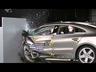 2012 Volkswagen (Passat) CC IIHS Narrow/Small Overlap Frontal Offset (Marginal Rating)