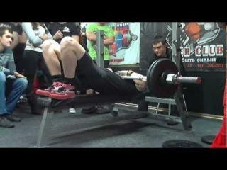 Ковалев М, 100на20, СВ=82,9 кг, Класс РЖ, 02.12.2012