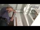 Монтаж установка реечного потолка Часть1