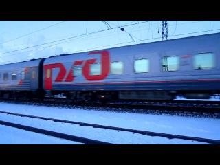 Электровоз ЧС2Т-1034 с поездом