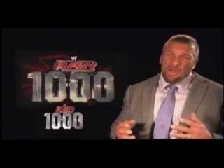 WWE Raw 1000th Episode: Triple H Remembers His Raw Return [2002]