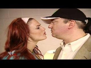 Brock Lesnar vs Jeff Hardy Promo at BackLash 2002