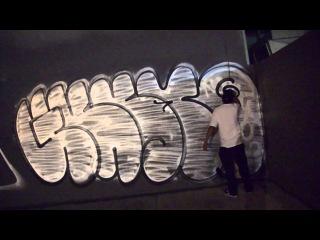 Граффити Бомбинг в Сан-Франциско MQ bombing San Francisco