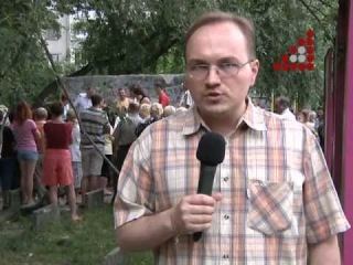 Спортмайданчик на П'ятницькій 47 теж забудують? Дебют у новинній журналістиці Віталія Литвина (ведучий економічної передачі