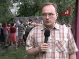 Спортмайданчик на Пятницькій 47 теж забудують? Дебют у новинній журналістиці Віталія Литвина (ведучий економічної передачі