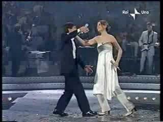Senza fine - Gianni Morandi e Paola Cortellesi