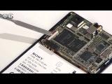 Sony Xperia J - как разобрать смартфон и обзор запчастей