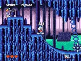 Игры Sega.Tiny Toon Adventures (yDot) часть 4 - Висящие жабы
