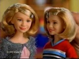 MARY KATE AND ASHLEY OLSEN TWINS DOLLS COMMERCIAL