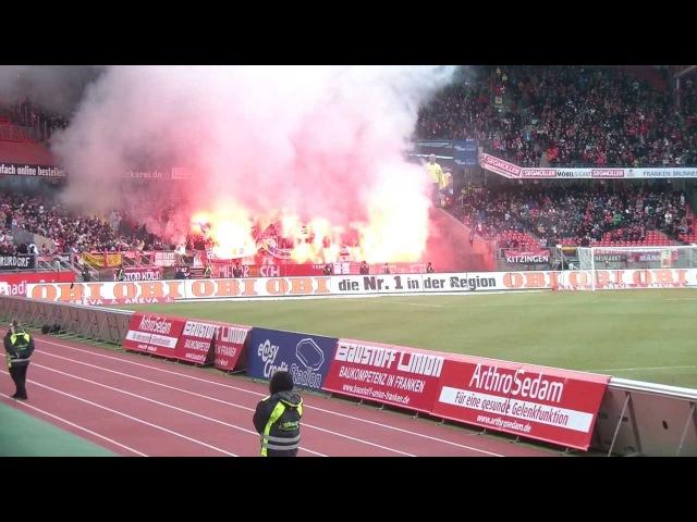 1. FC Nürnberg - 1. FC Köln (2:1) Pyro/Bengalos 18.02.2012