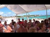 perfect Christmas drink - on the beach - Grand Sirenis Riviera Maya YouTube HD