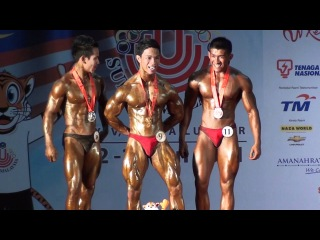 SUKMA 2011 Below 60kg: Posing for the media & press