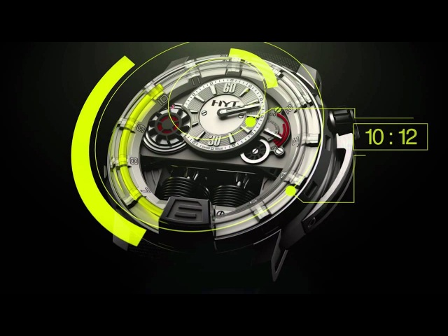 HYT The Hydro Mechanical Horologists - Baselworld 2012
