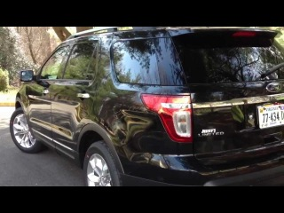 2013 Ford Explorer Eco-Boost Review, Walk Around, Start Up & Rev, Test Drive