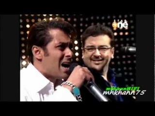 Salman Khan Singing Along With Adnan Sami - Bheegi Bheegi Raaton Mein (Must Watch)